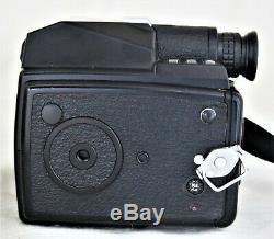 Pentax 645 Medium Format Film Camera 120 Film Back w 75mm f/2.8 Lens Excellent++