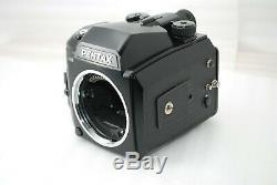 RARE Near MINTPentax 645N Medium Format SLR Camera Body w 120 film back #3592