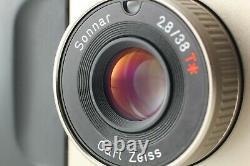 READ NEAR MINT CONTAX T2 D DATA Back 35mm Film Point & Shoot Camera Japan #K11