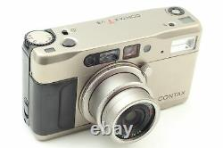 Read! Exc+5 in Case CONTAX TVS Data Back 35mm Point & Shoot Film Camera JAPAN