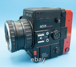 Rolleiflex 6008 Pro Medium Format Film Camera with Planar 80/2.8 Lens & Red Back