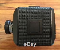 Rolleiflex SL66SE medium format camera, film back and viewfinder