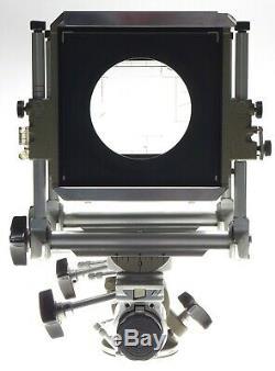 SINAR NORMA chrome vintage large format 4 x 5 field camera pol back film plates