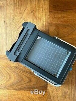 Schneider High-End Camera Back 4x5 Vacuum 42 Film Holders Compete Set Linhof