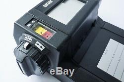 Sinar Vario 6x4.5, 6x6, 6x7, 6x9, 6x12 Roll Film Back for 4x5 Cameras, READ