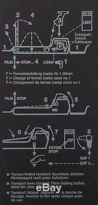 Sinar camera roll film holder 67 box 4x5 120 220 67 film back insert P2 F P Nice