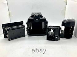 TOP MINT BOXEDPentax 645 Medium Format Film Camera + 120 Film Back FROM JAPAN