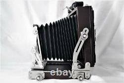 TOP MINT Horseman Woodman 45 4x5 Large format Field Camera with120 Film Back