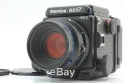 TOP MINT Mamiya RZ67 Pro II Film Camera 110mm F/2.8 W Lens 120 Film Back JAPAN