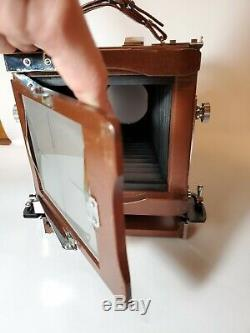 Tachihara / Zone VI 4x5 Wood Field Camera + 5 film backs - MAKE OFFER