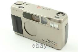 UNUSED in BOXContax T2 35mm f2.8 Point & Shoot Film Camera with Data Back JAPAN
