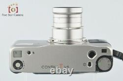 Very Good! CONTAX TVS 35mm Point & Shoot Film Camera Body with Data Back
