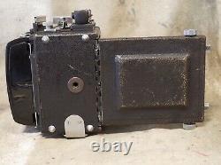 Vintage GRAFLEX Miniature SPEED GRAPHIC 2x3 23 film CAMERA with GRAFLOK BACK