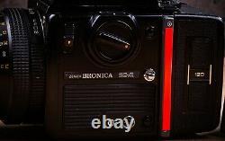 ZENZA BRONICA SQ-AI 6X6 MEDIUM FORMAT FILM CAMERA With EXTRA BACK 80MM LENS