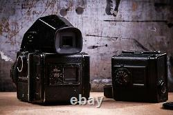 ZENZA BRONICA SQ-A 6X6 MEDIUM FORMAT FILM CAMERA KIT With EXTRA 645 BACK 80MM LENS