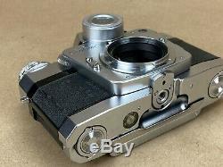 Zeiss Ikon Contarex Bullseye Vintage Camera Body with Film Back Works