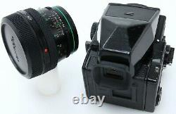 Zenza Bronica ETRS Film Camera with 75 mm f2.8 lens 120 back & prism tested 389702