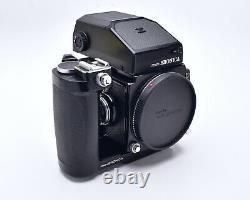 Zenza Bronica ETRS Medium Format Film Camera Grip AE-II Finder 120 Back (#7496)