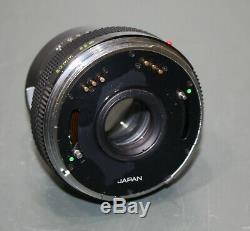 Zenza Bronica ETRS, Zenzanon MC 50mm f/2.8, AE-II Finder, 120 Film Back, Camera